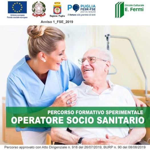 PERCORSO FORMATIVO SPERIMENTALE DI OPERATORE SOCIO SANITARIO