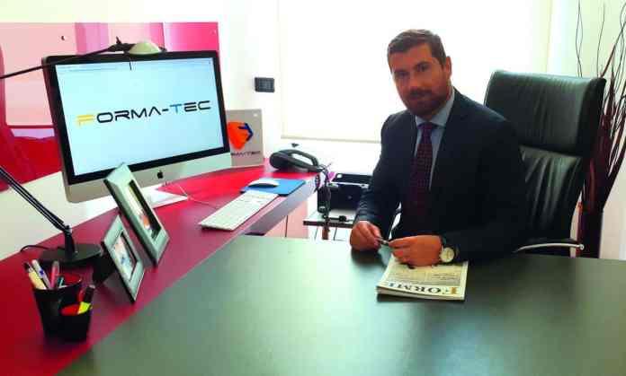 Mirko Papetti, presidente e co-fondatore di Forma-Tec