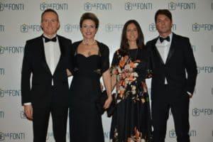 """Daniele Della Bianca, in occasione del conferimento del premio """"Ceo dell'Anno per Consulenza e Formazione"""" a Le Fonti Awards 2018, con Moris Frattin"""