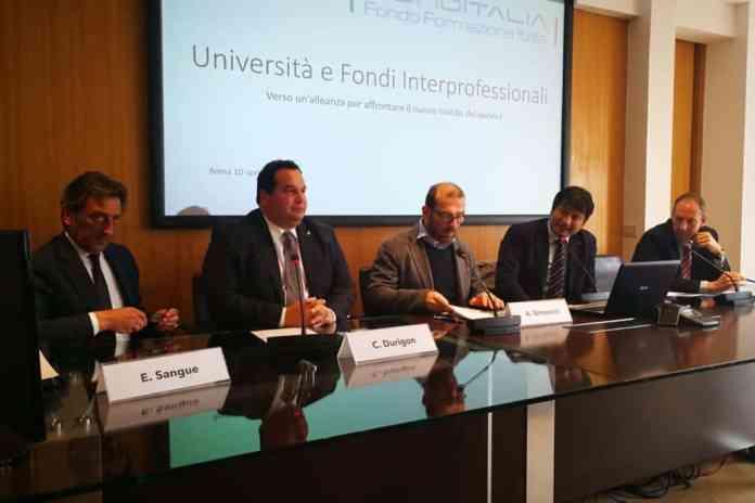 Convegno Fonditalia Università