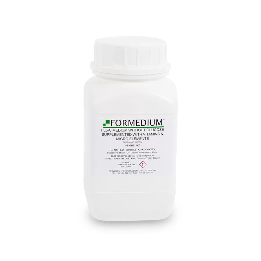 HL5-C Medium without Glucose supplemented with vitamins and micro-elements