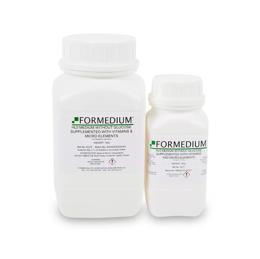 HL5 Medium without Glucose supplemented with vitamins and micro-elements