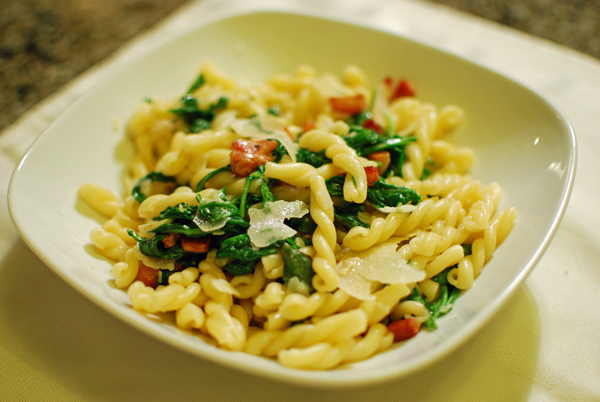 Pasta with Pancetta