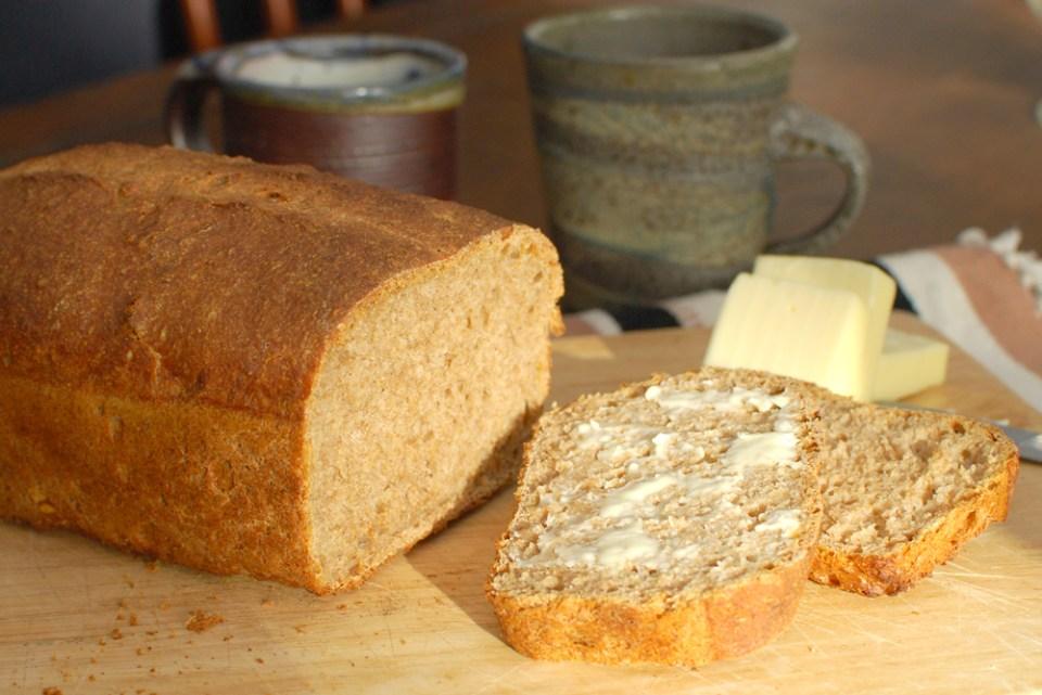 Healthy Bread in Five Minutes a Day~Whole Grain Master Recipe