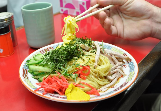 Tsukiji Pork Noodles, Cold