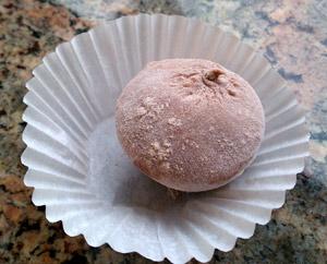 Chocolate Mochi from Mikawaya