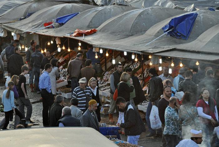 Galeta Bridge Fish Market