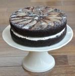 Chocolate Spiced Pear Cake