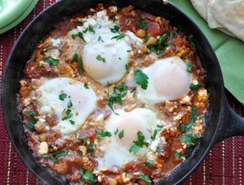 Eggs Tomato Feta