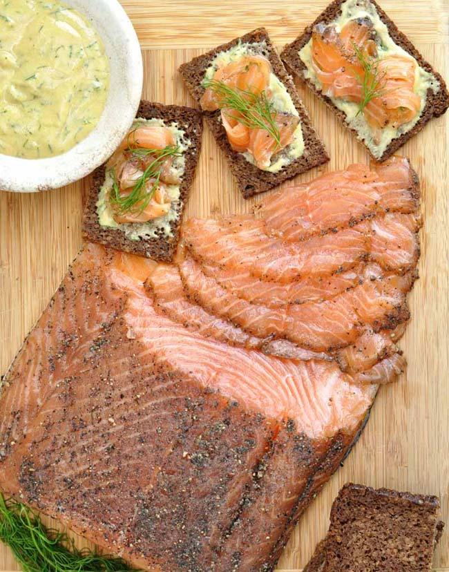 How to make salmon Grav Lax