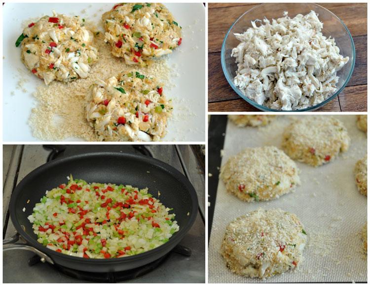 Crab Cake Preparation