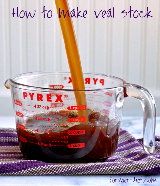 How to Make Veal Stock