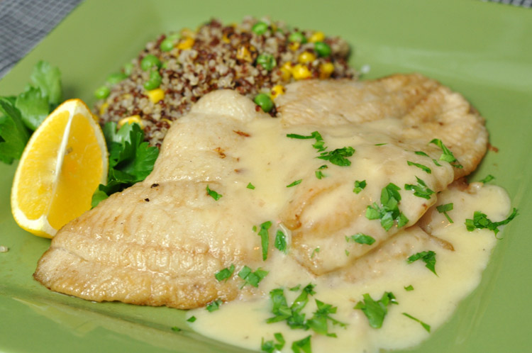 Sautéed Sole with Beurre Blanc Sauce