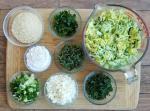 Zucchini Fritter Ingredients