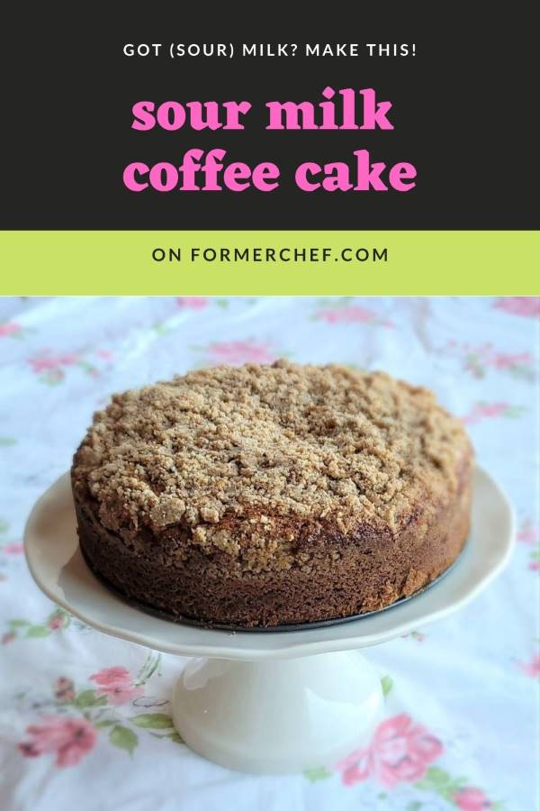 Sour Milk Coffee Cake