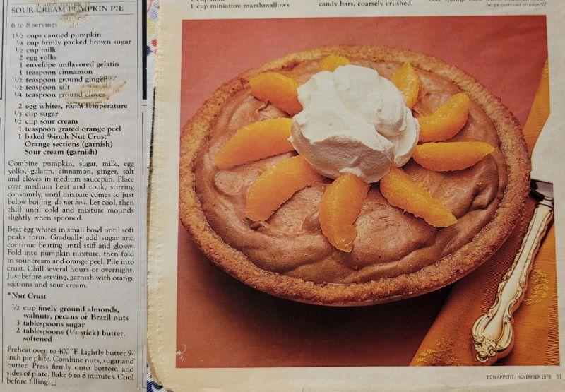 1978 Pumpkin Pie