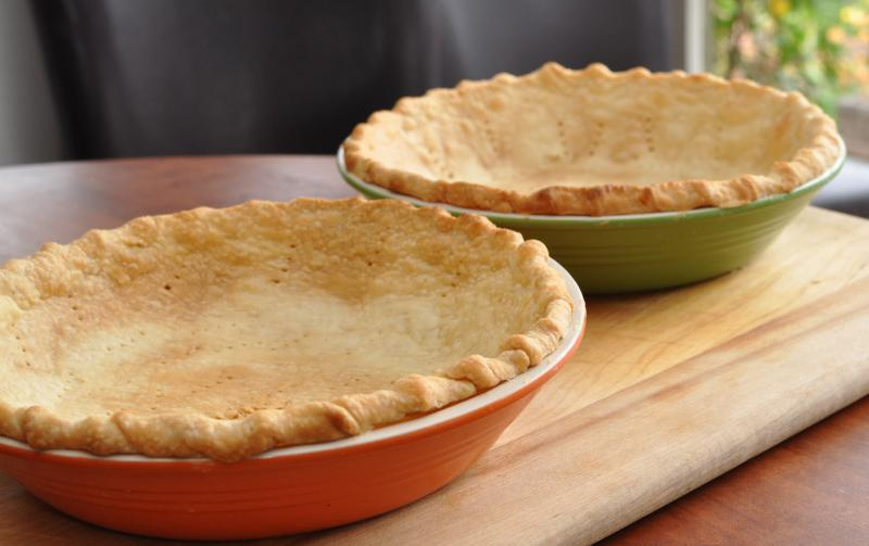Baked Pie Crusts