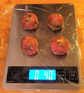 Meatballs on Scale