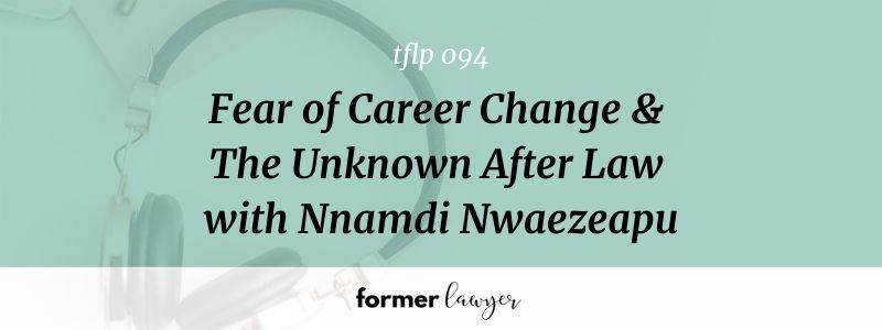 fear of career change
