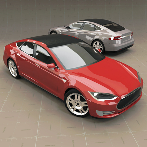Tesla Model S. Car, vehicle, sedan, electric, automobile, tesla, model, s, american, prototype