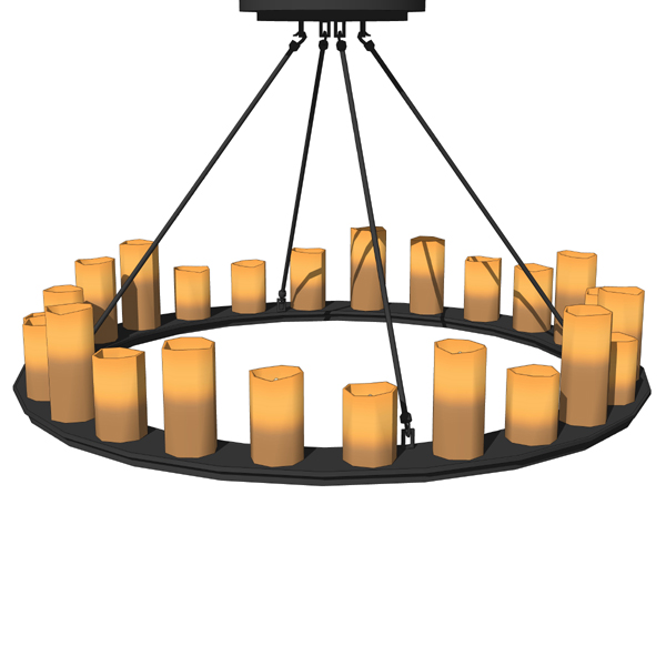 Natural Looking Faux Candles In Diffe Shapes A