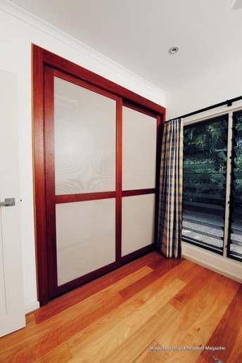 Timber Sliding Doors 2 Door with mesh panels
