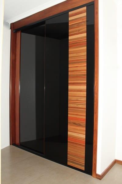 Multi Timber Slat Bedroom Sliding Doors