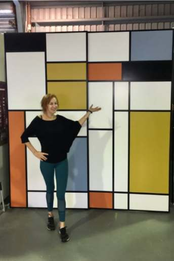 Mondrian Sliding Doors before Sydney