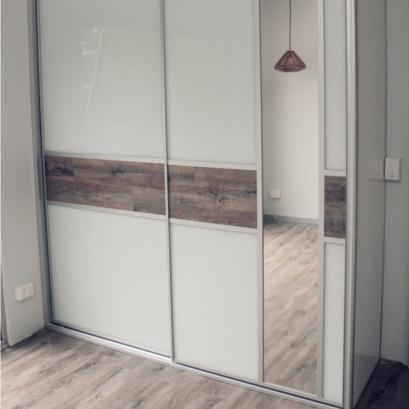 Floating Timber Floor Boards Cupboard Doors