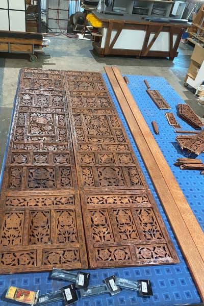 Kitchen Barn Door Materials
