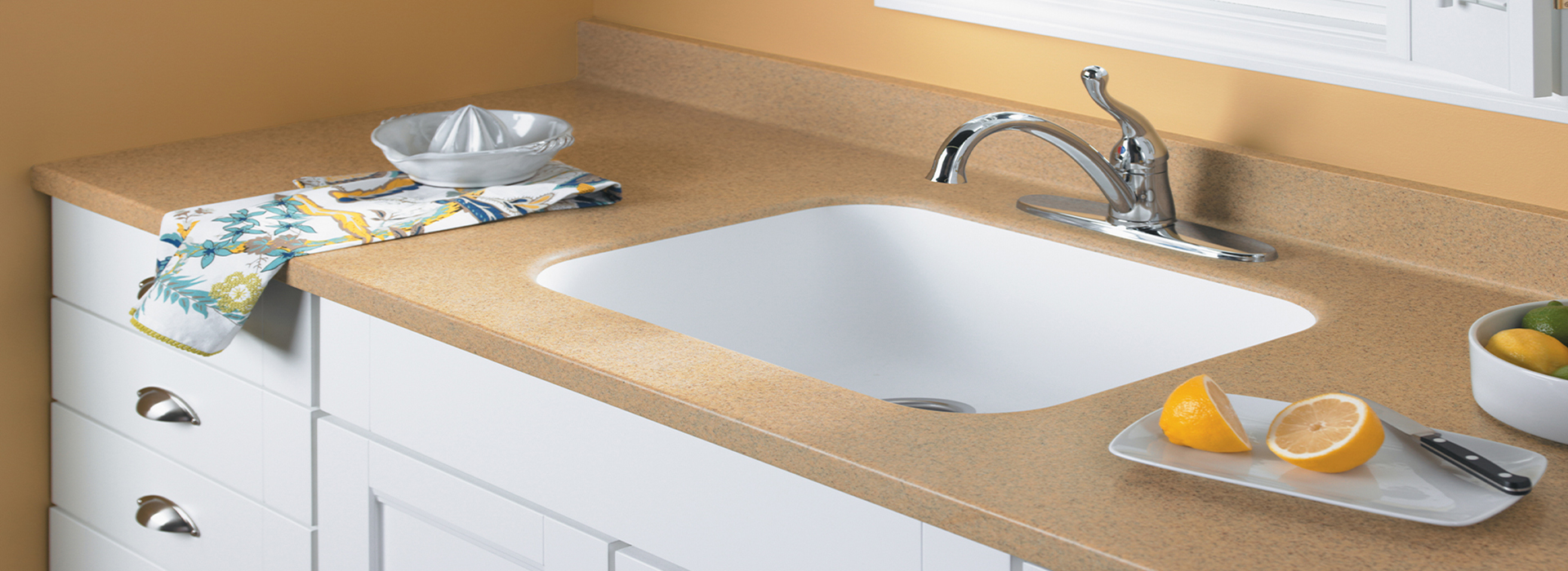 everform solid surface sinks