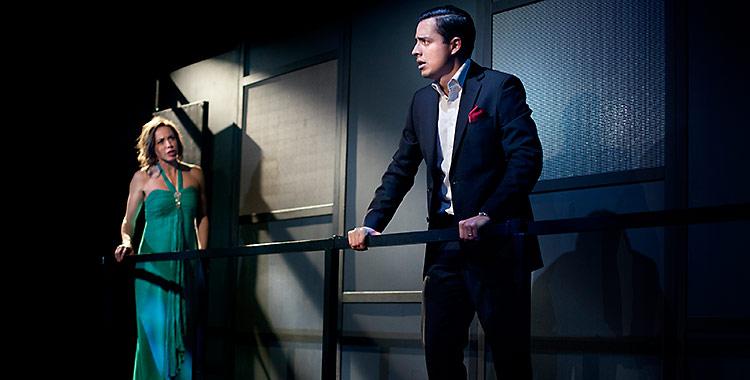 Othello/Riksteatern. Foto: Markus Gårder, för Riksteatern.