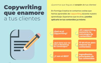 15 maneras de hacer que el copywriting en tu pequeña empresa enamore.