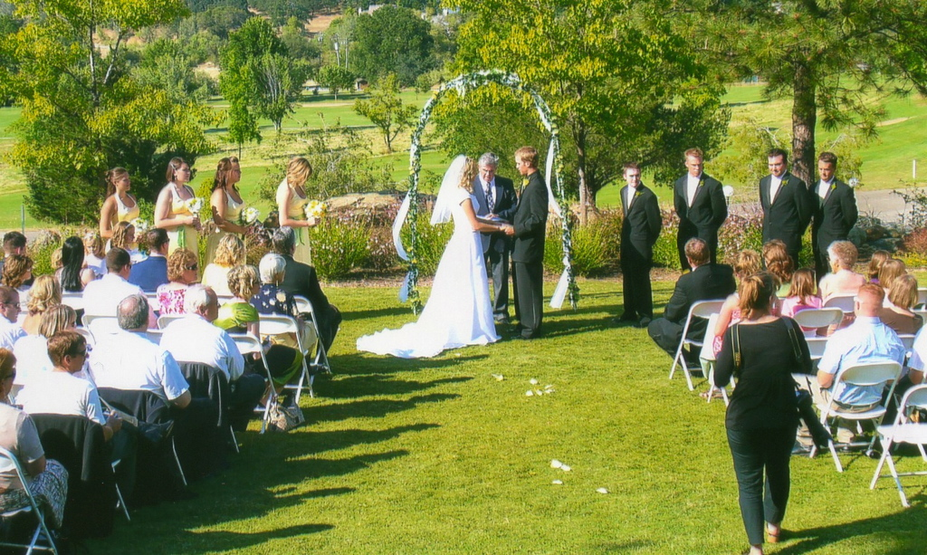 Country Club ceremony