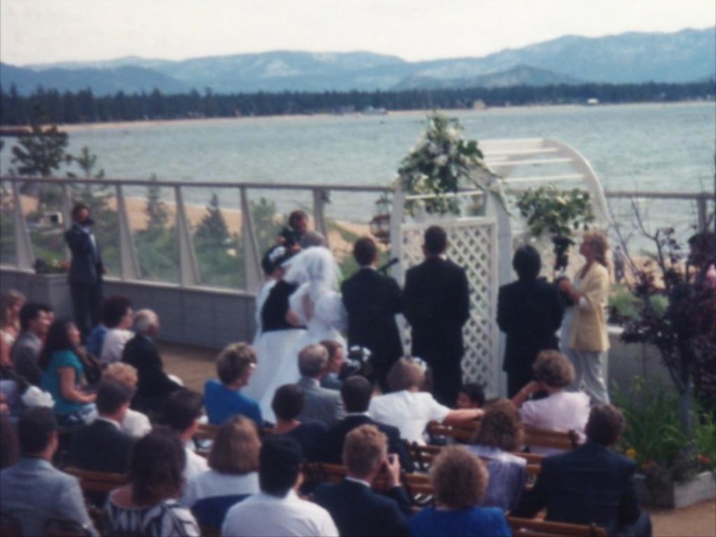 Edgewood Tahoe ceremony