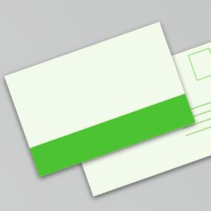Postkort m. blank kachering