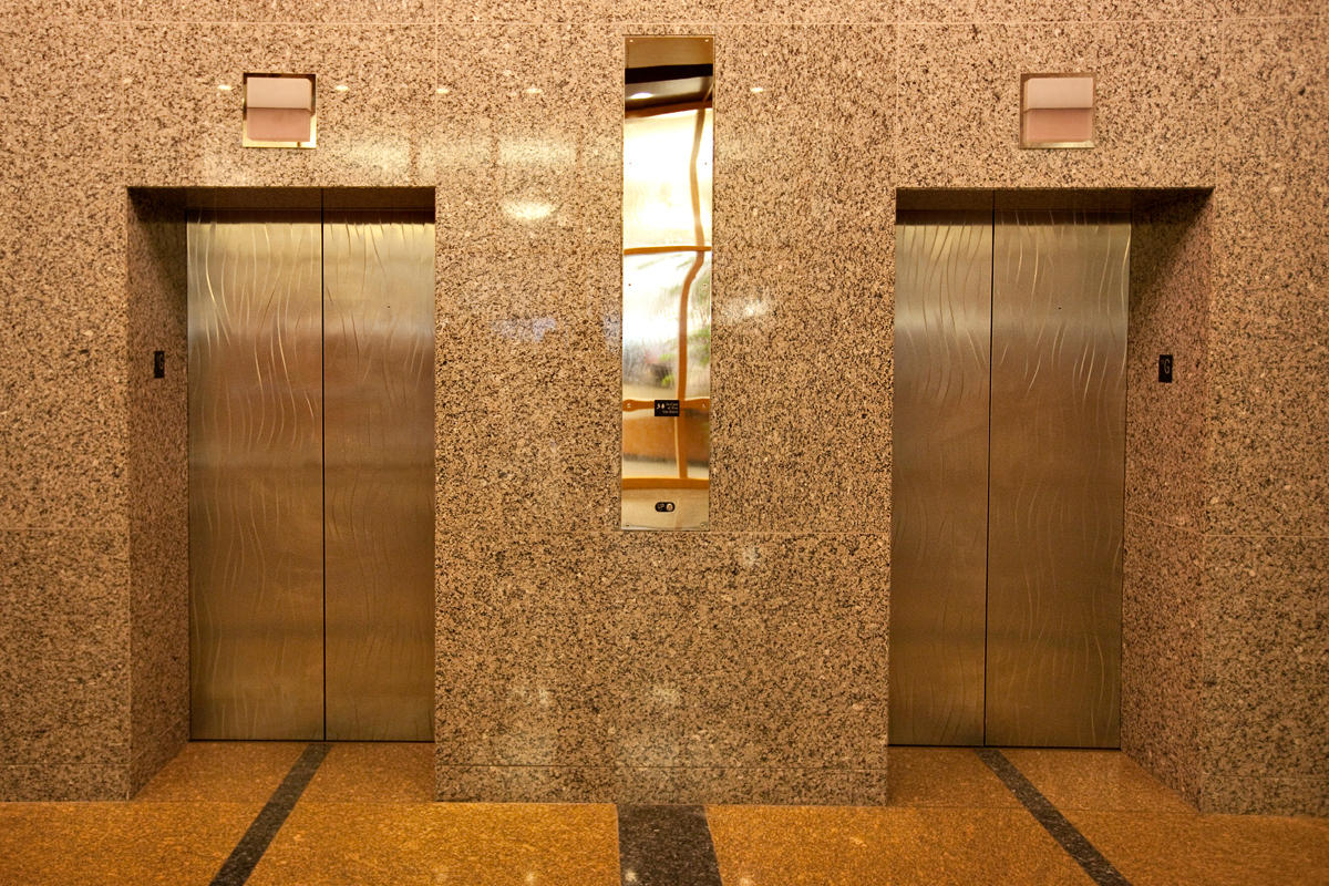 Stainless Steel Elevator Doors Architectural Forms