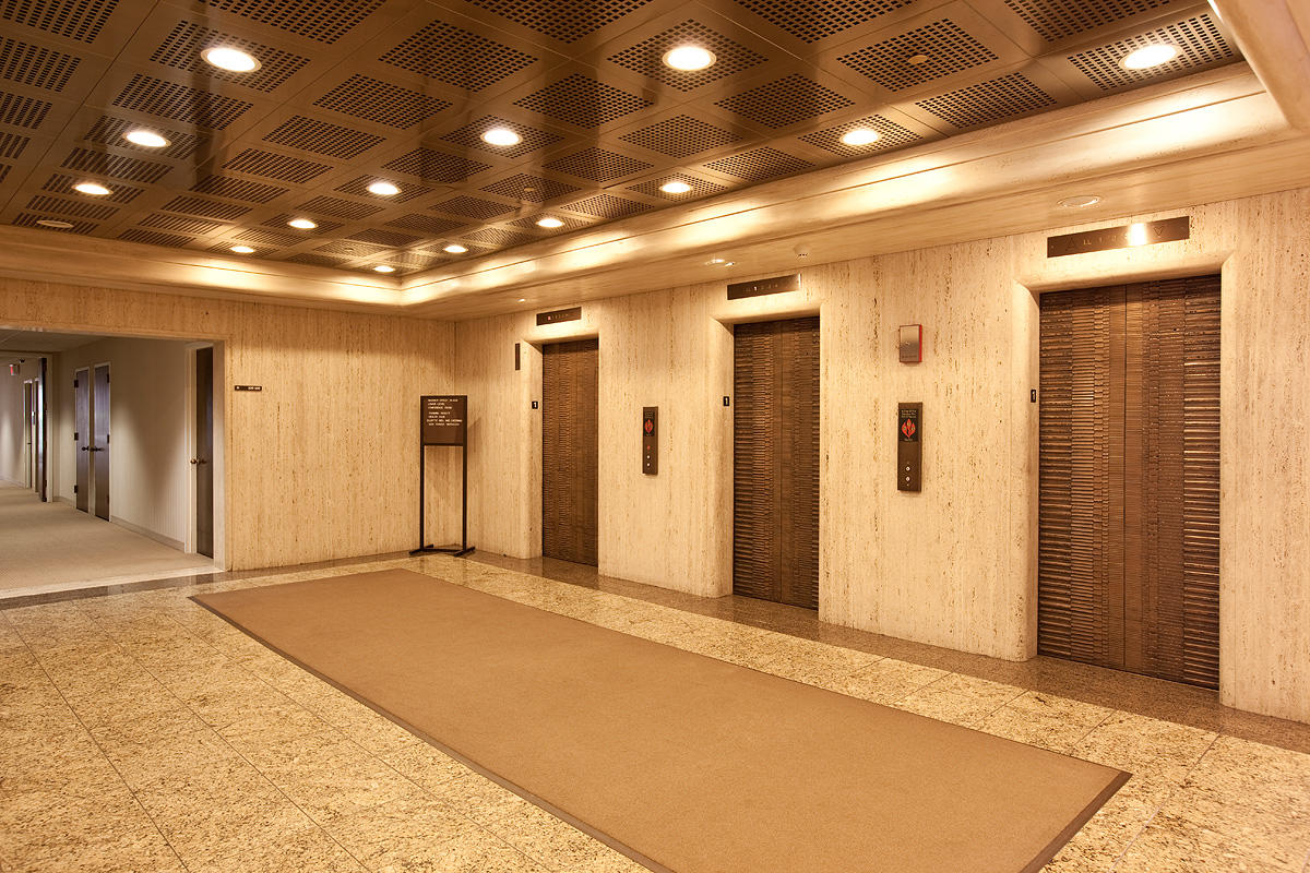 Bonded Metal Elevator Doors Architectural FormsSurfaces
