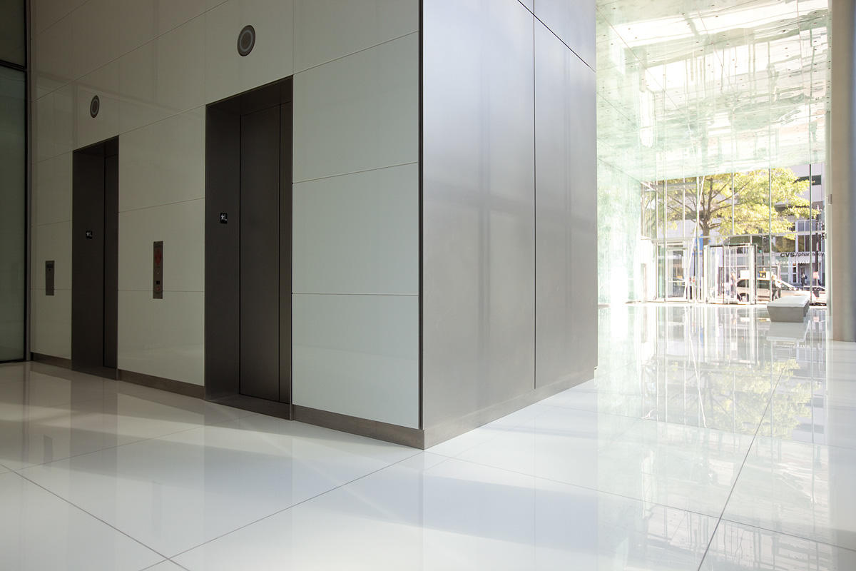 Fused Metal Elevator Doors Architectural FormsSurfaces