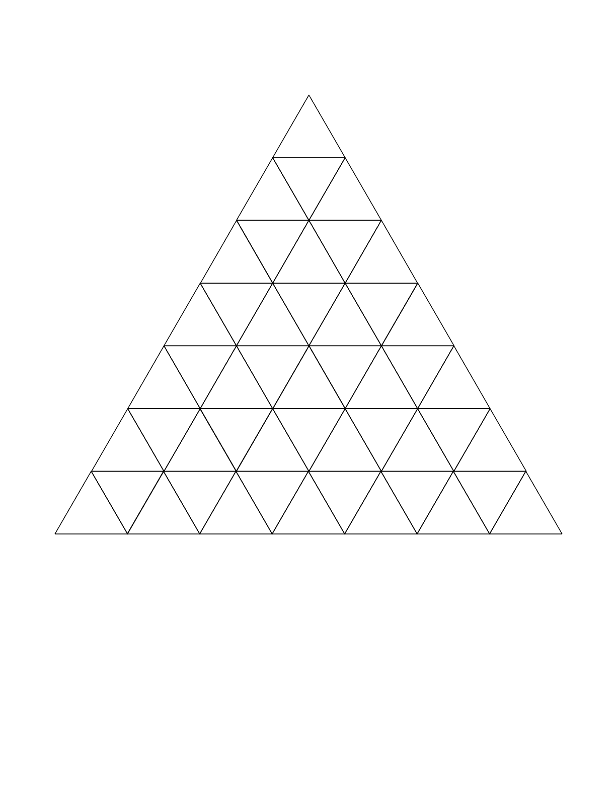 Triangle Graph Paper Free Download