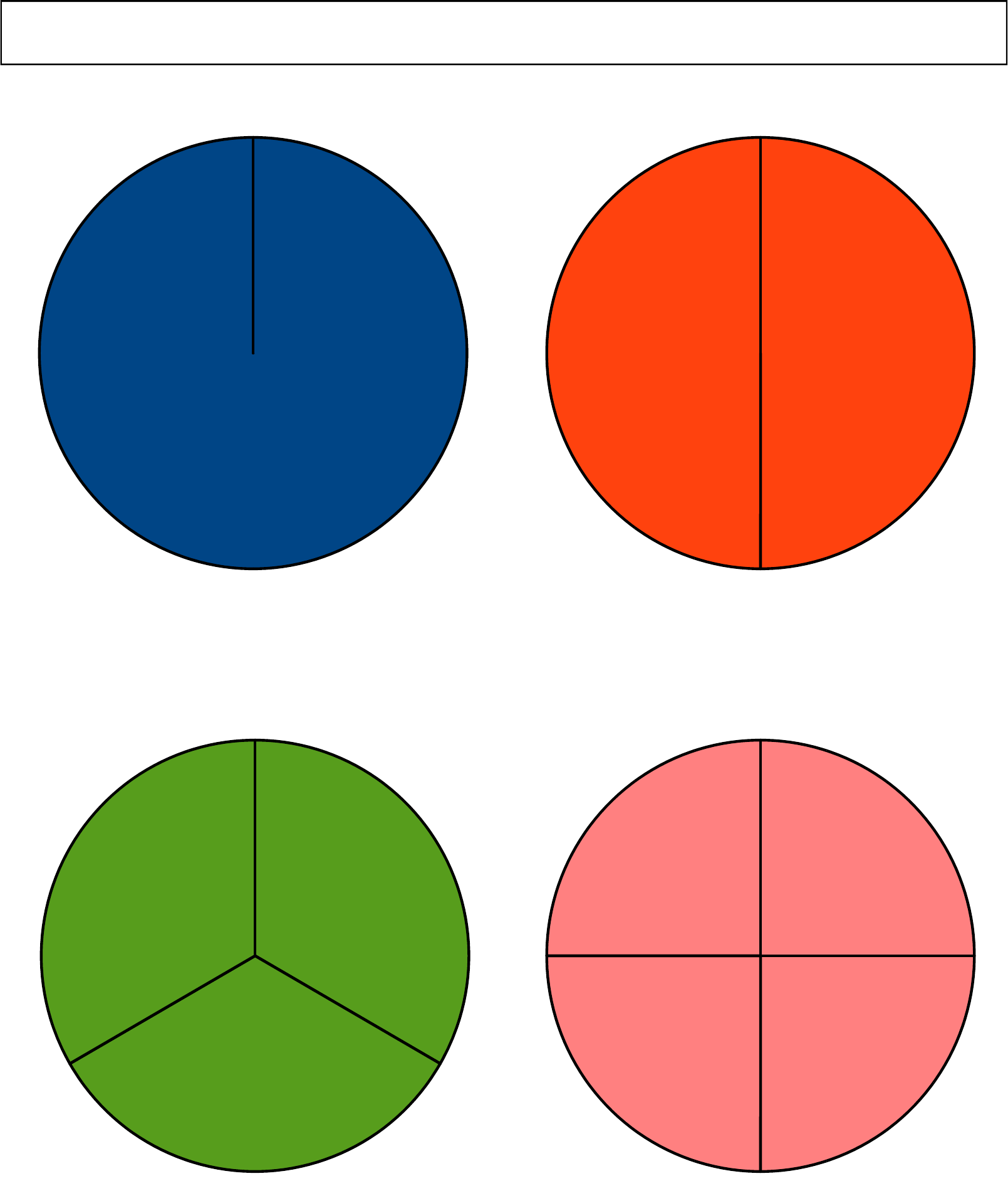 graphic about Printable Fraction Circles known as movement it mathâ workshops cost-free math classes math worksheets