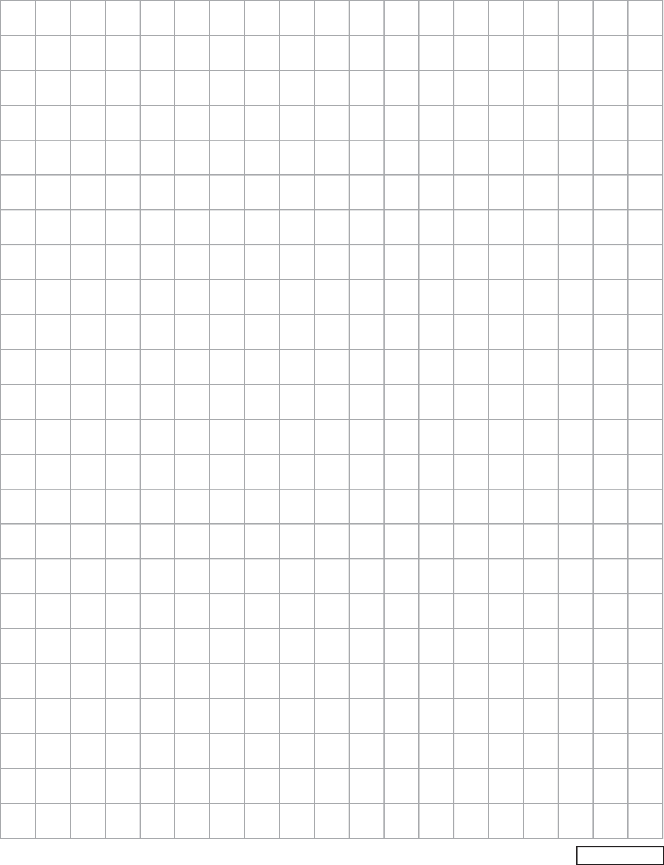 Blank End Of Grade Graph Paper Free Download