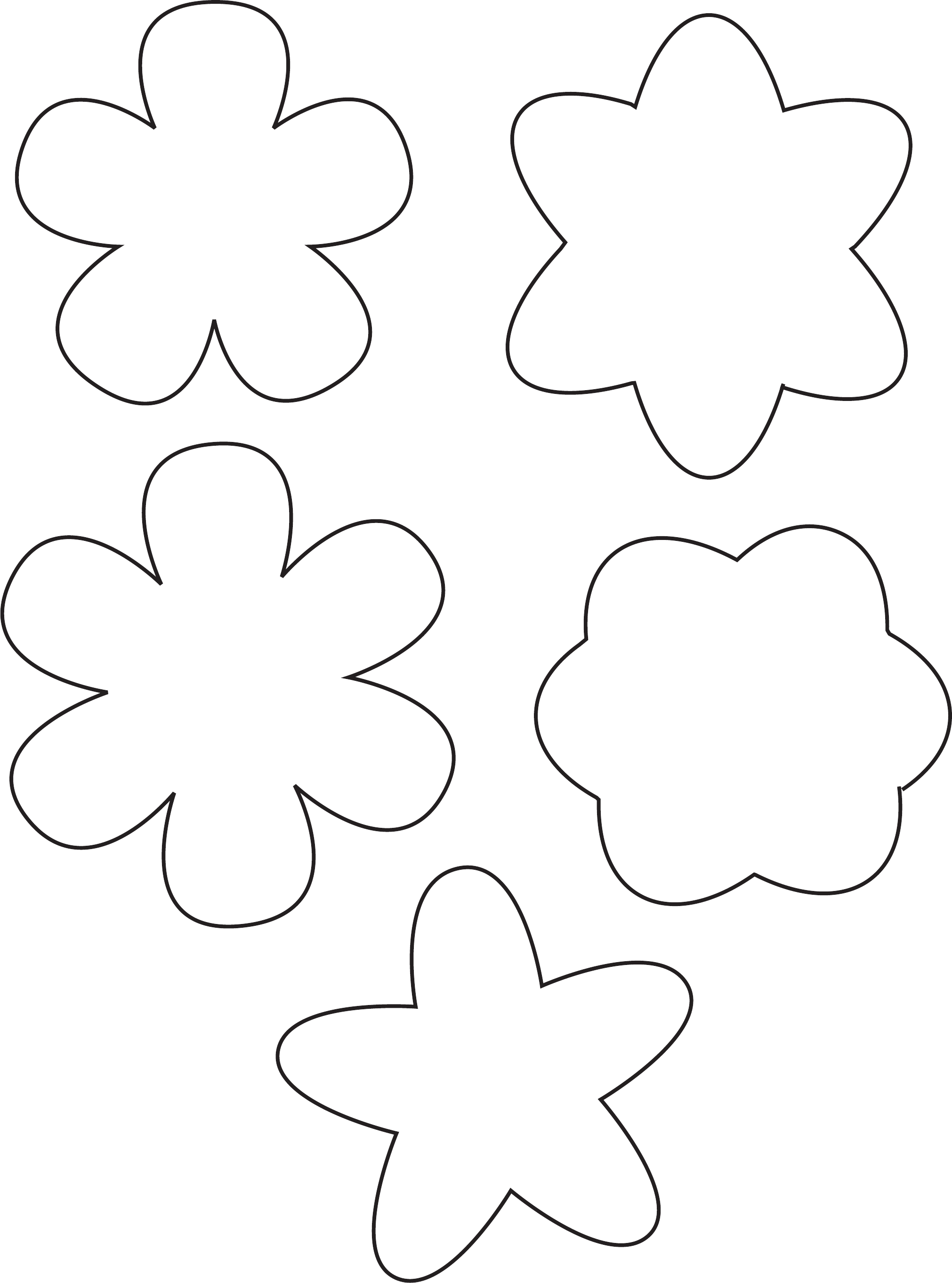 Cricut Paper Flower Templates Free