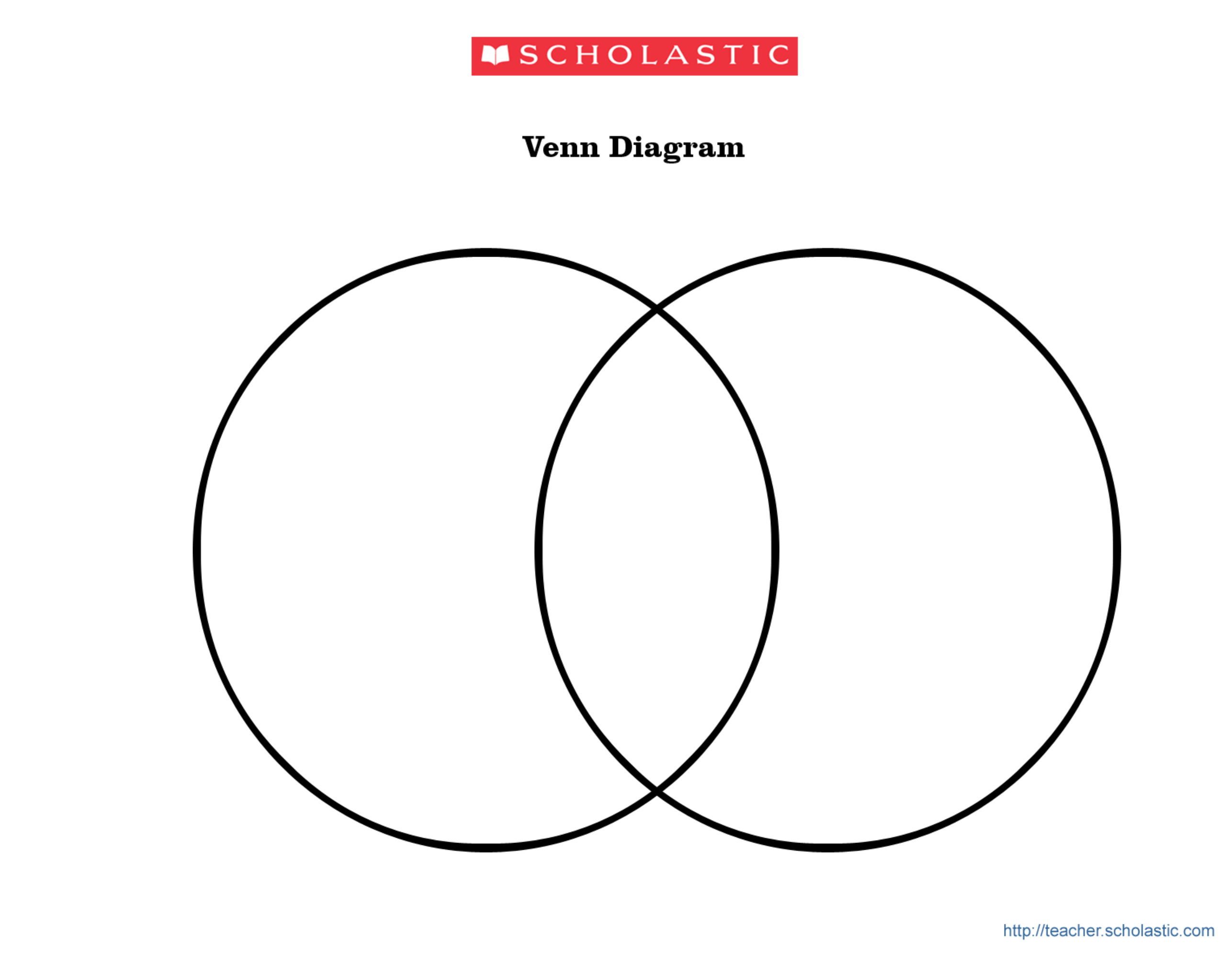 Blank Venn Diagram Template Free Download