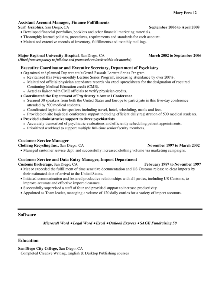 resume samples picture perfect resume example resume and cover