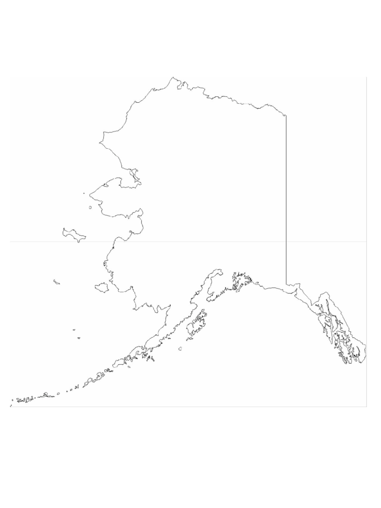 Alaska Map Template 8 Free Templates In Pdf Word Excel Download