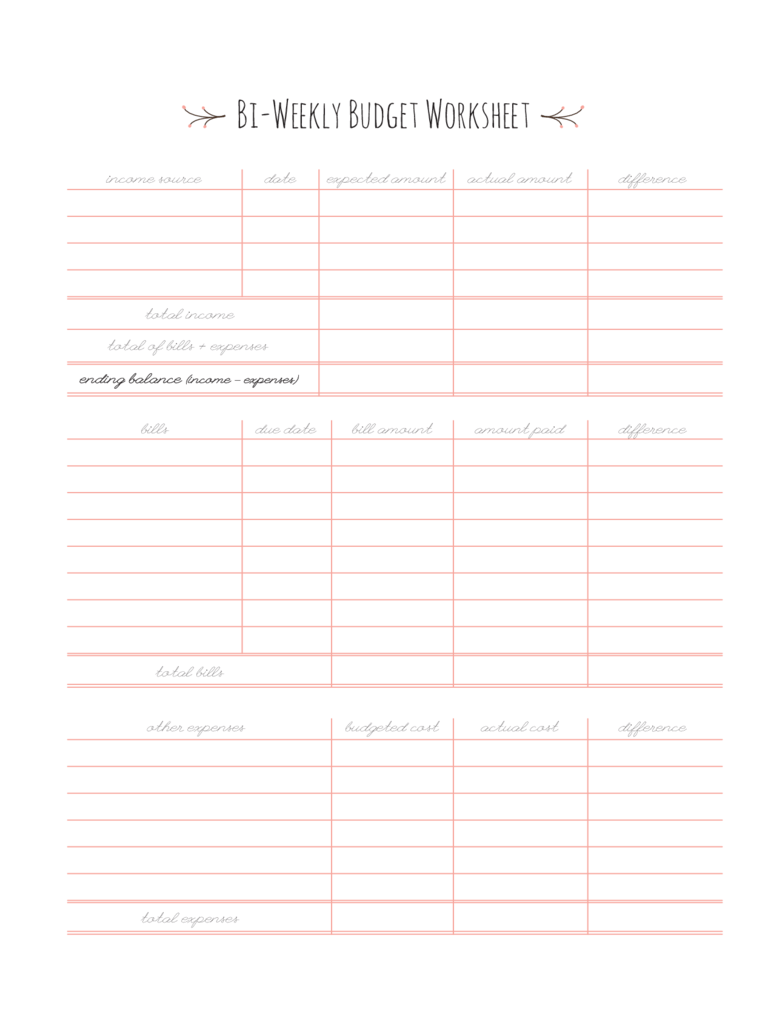 worksheet Weekly Budget Worksheet weekly budget spreadsheet templates cute design in excel bi template personal planner