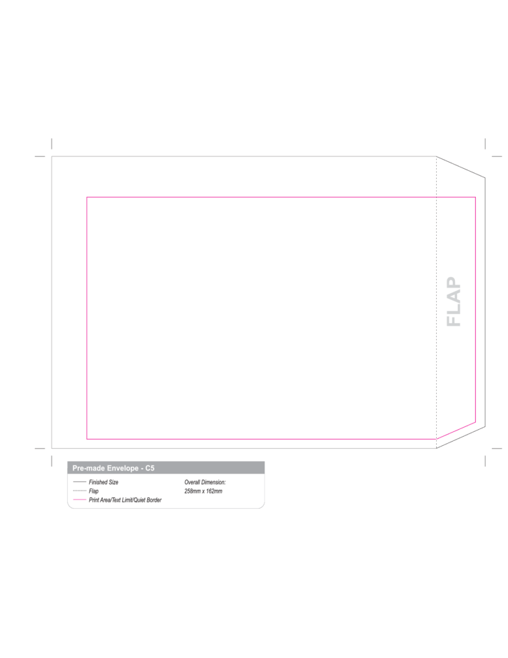 A6 Envelope Template. 15 best printable envelope templates sample ...