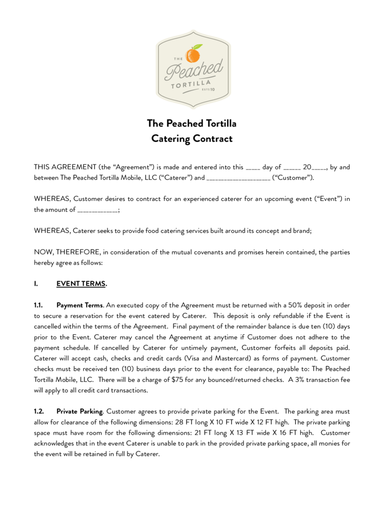 Basic Contract Templates basic contract template payment – Basic Services Contract