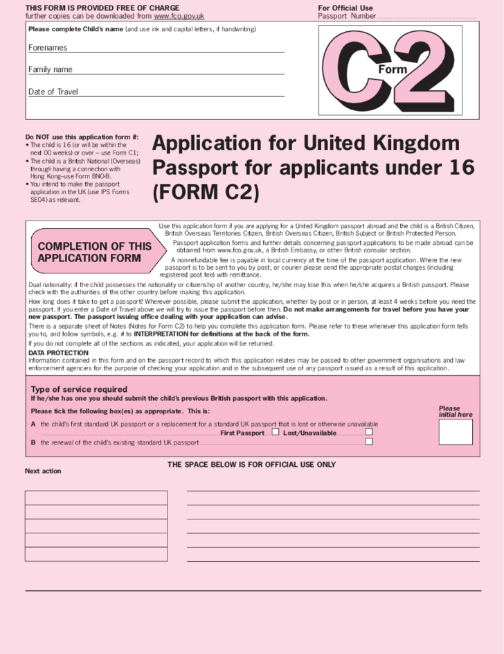 How To Fill Out A Passport Application Form Uk | How To